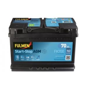 Batterie AGM Start&Stop 70Ah