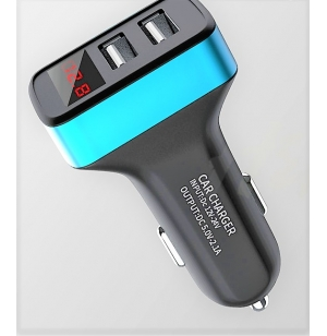 chargeur Auto  double USB 2.1A