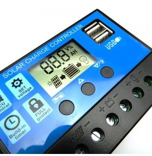 Régulateur PWM 30A avec USB
