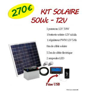 Kit Solaire 50WC