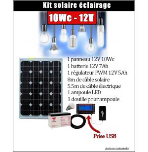 Kit Solaire 10WC