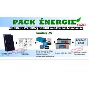 PACK ENERGIE 660Wc
