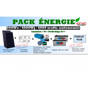 PACK ENERGIE 990 Wc