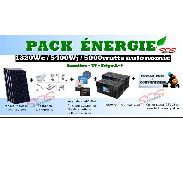 PACK ENERGIE 1320Wc