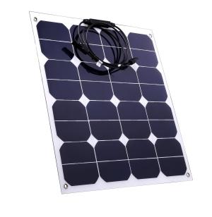 Panneau solaire semi-flexible 12v - 50Wc